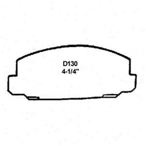 Wearever Silver Brake Pads/shoes - Front - Nad 130/nad 130
