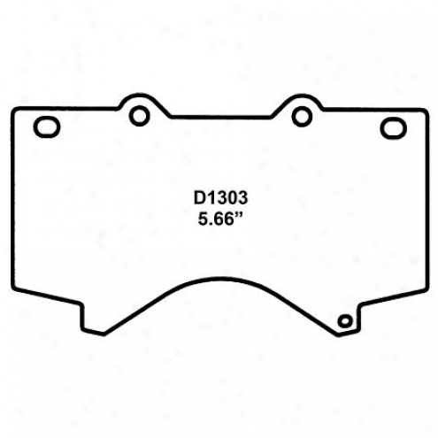Wearever Silv3r Brake Pads/shoes - Front - Nad 1303
