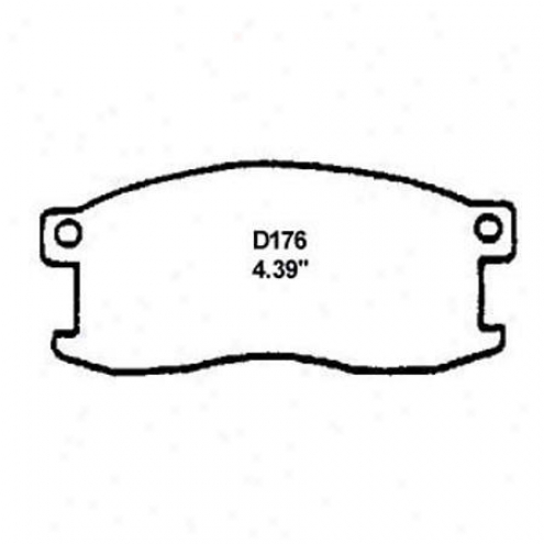 Wearever Silver Brake Pads/qhoes - Front - Nad 176/nad 176