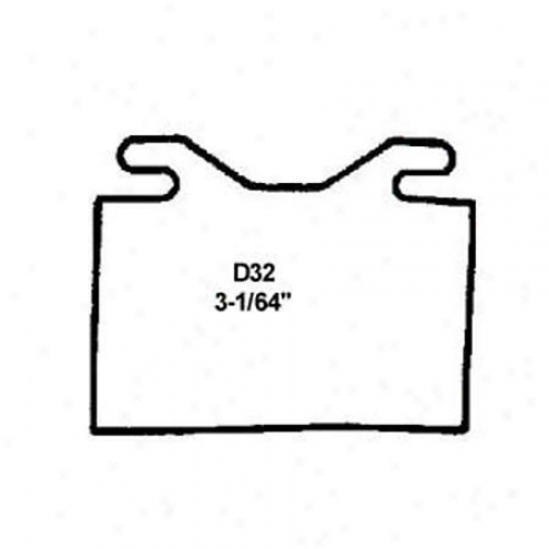 Wearever Gentle Brake Pads/shoes - Front - Nad 32/nad 32