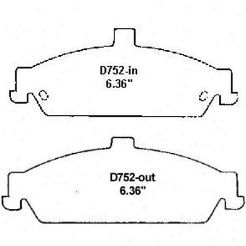 Wearever Silver Brake Pads/shoes - Front - Nad 752