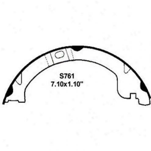 Wearever Silver Brake Pads/shoes - Parking - Nb761