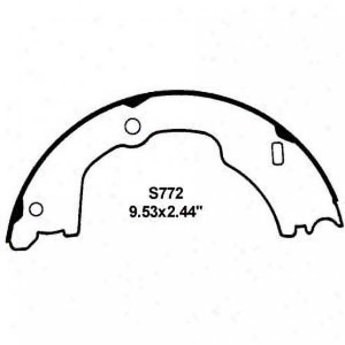 Wearever Silver Brake Pads/shoes - Parking - Nb772