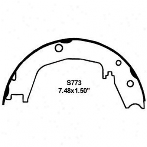 Wearever Silver Brake Pads/shoes - Parking - Nb773