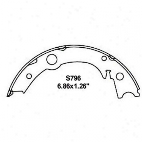 Wearever Silver Brake Pads/shoes - Parking - Nb796