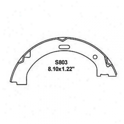 Wearever Silver Brake Pads/shoes - Parking - Nb803