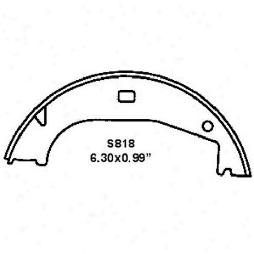 Wearever Silver Brake Pads/shoes - Parking - Nb818