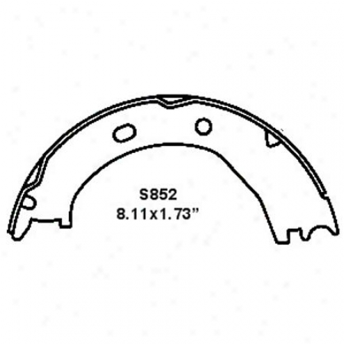 Wearever Silver Brake Pads/shoes - Parking - Nb852