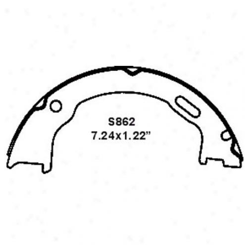 Wearever Silver Brake Pads/shoes - Parking - Nb86Z