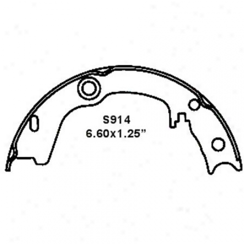 Wearever Silver Brake Pads/shoes - Parking - Nb914