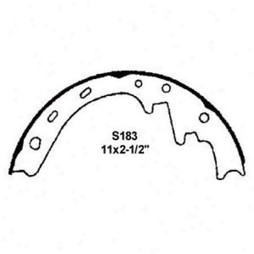 Wearever White Brake Pads/shoes - Rear - bF183