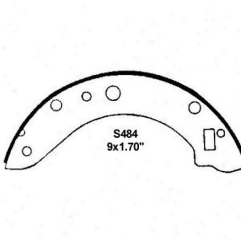 Wearever Silver Brake Pads/shoes - Rear - Fb484