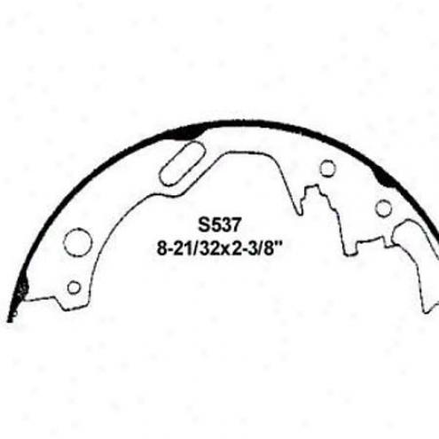 Wearever Silver Brake Pads/shoes - Rear - Fb537