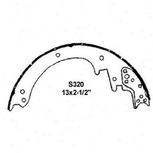 Wearever Silver Brake Pads/shoes - Rear - Fr320