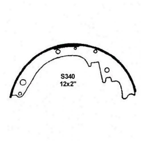 Wearever Silver Brake Pads/shoes - Rear - Fr340
