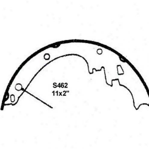 Weaeever Gentle Bdake Pads/shoes - Rear - Fr462