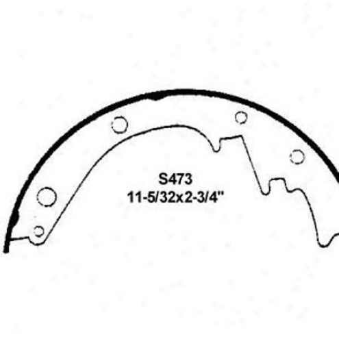Wearever Silver Brake Pads/shoes - Rear - Fr473