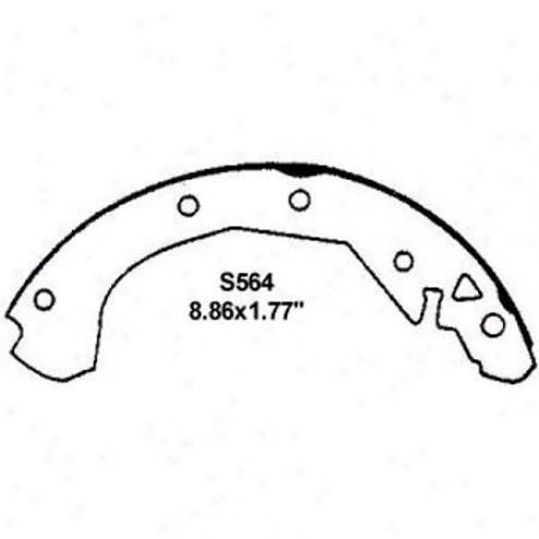 Wearever Silver Brake Pads/shoes - Rear - Fr564
