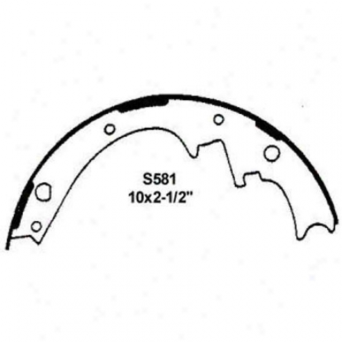 Wearever Silver Brake Pads/shoes - Rear - Fr581