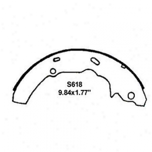 Wearever Silver Brake Pads/shoes - Rear - Fr618
