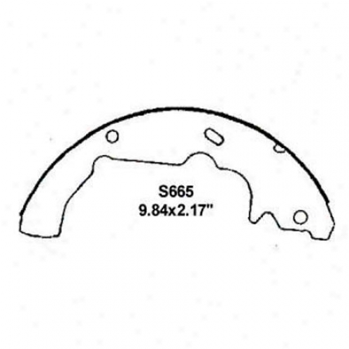 Wearever Silver Brake Pads/shoes - Rear - Fr665