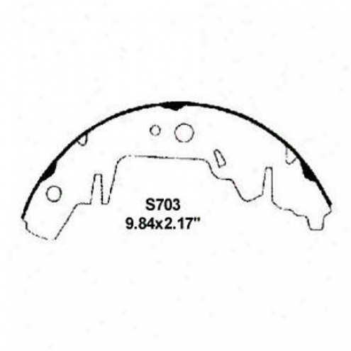 Wearever Silver Brake Pads/shoes - Rear - Fr703