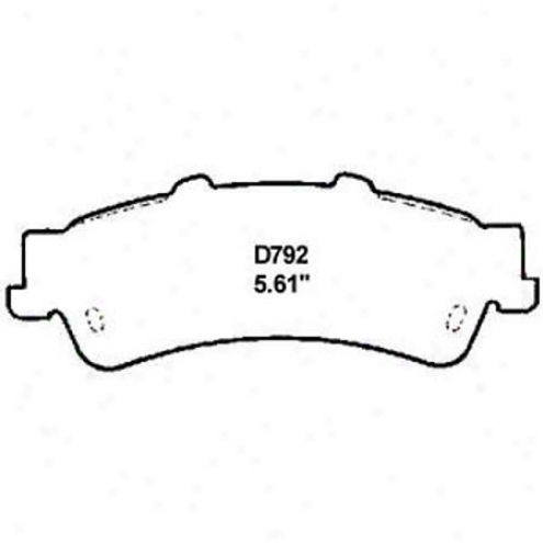 Wearever Silver Brake Pads/shoes - Rear - Mkd 792