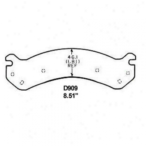 Wearever Silver Brake Pads/shoes - Raise - Mkd 909
