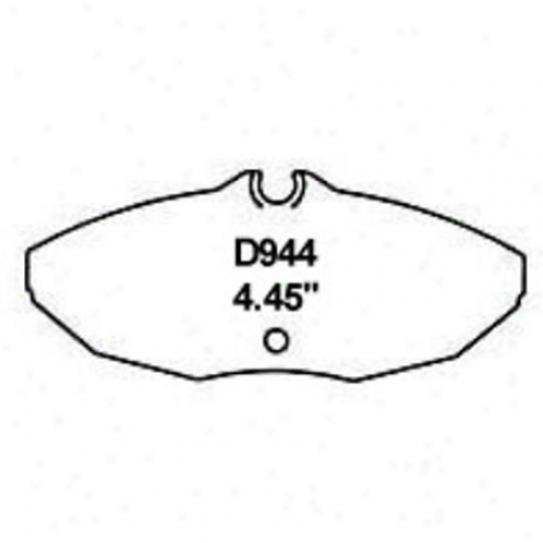 Wearever Silver Brake Pads/shoes - Rear - Mkd 944
