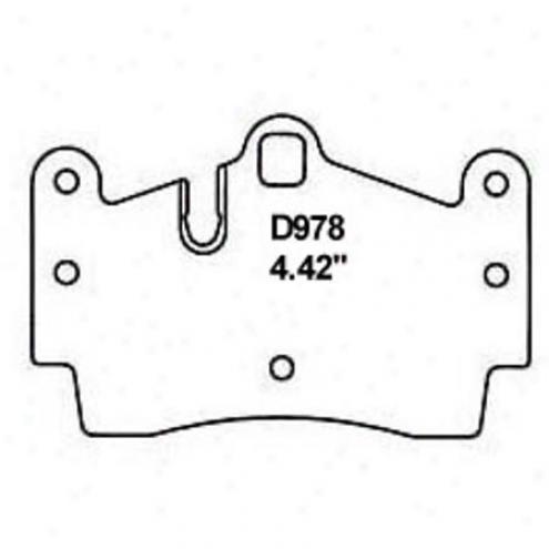 Wearever Silver Brake Pads/shoes - Rear - Mkd 978/mkd 978