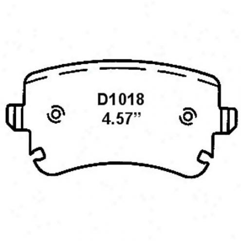 Wearever Silver Brake Pads/shoes - Rear - Nad 1018