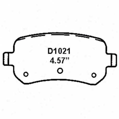 Wearever Silver Brake Pads/shoes - Rear - Nqd 1021