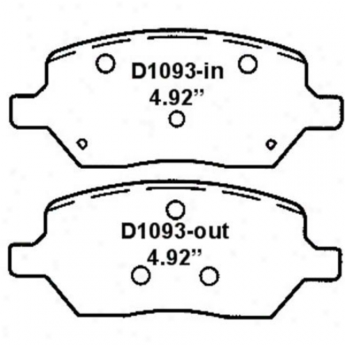Wearever Silver Brake Pads/shoes - Rear - Nad 1093