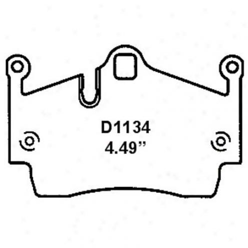 Wearever Silver Brake Pads/shoes - Rear - Nad 1134
