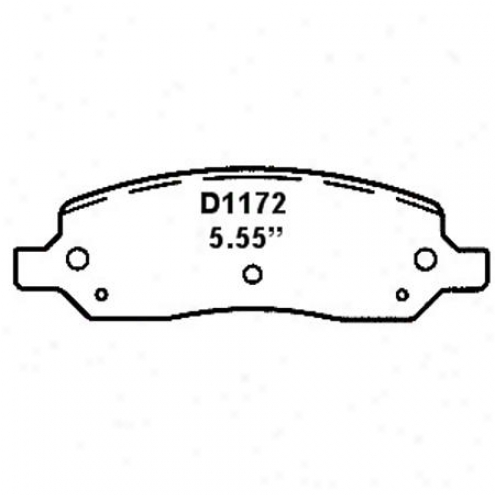 Wearever Silver Brake Pads/shoes - Rear - Nad 1172
