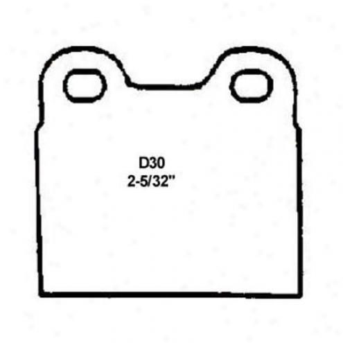 Wearever Silver Brake Pads/shoes - Rear - Nad 30