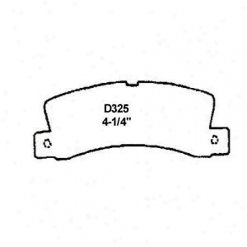 Wearever Silver Brake Pads/shoes - Rear - Nad 325
