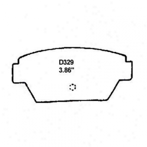 Wearever Silver Brake Pads/shoes - Rear - Nad 329/nad 329