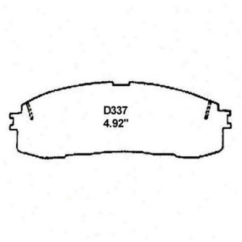 Wearever Silver Brake Pads/shoes - Rear - Nad 337