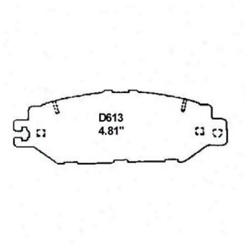 Wearever Silver Brake Pads/shoes - Rear - Nad 613