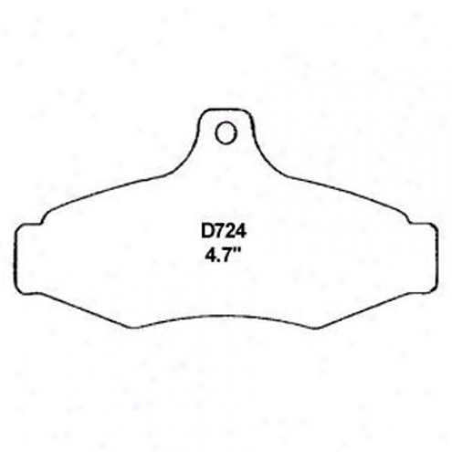 Wearever Silver Brake Pads/shoes - Rear - Nad 724
