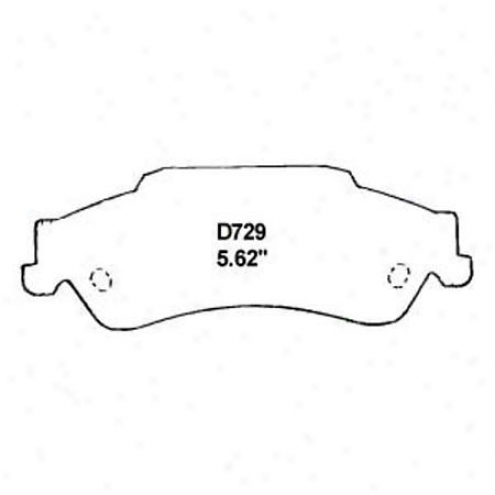 Wearever Silver Brake Pads/shoes - Rear - Nad 729