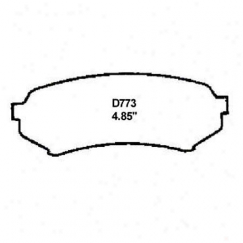 Wearever Silver Brake Pads/shoes - Rear - Nad 773