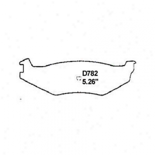 Wearever Silver Brake Pads/shoes - Rear - Nad 782