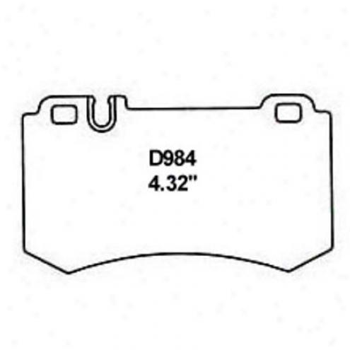 Wearever Silver Brake Pads/shoes - Rear - Nad 984