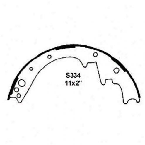 Wearever Silver Brake Pads/shoes - Rear - Nb334