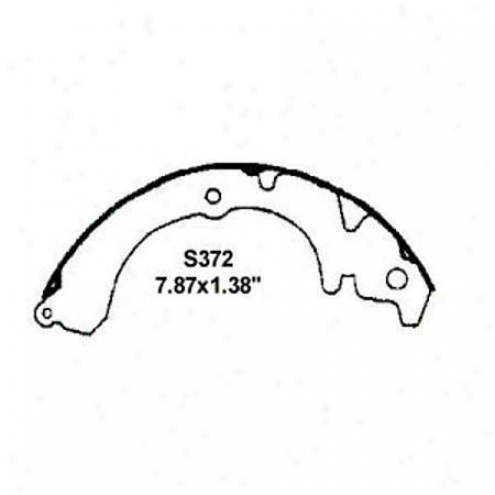 Wearever Silver Brake Pads/shoes - Rear - Nb372