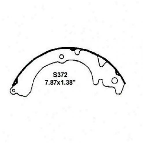 Wearever Silver Brake Pads/shoes - Rear - Nb372