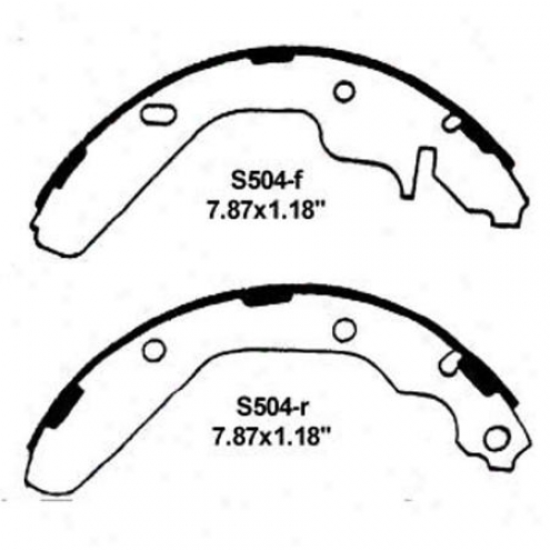 Wearever Silver Brake Pads/shoes - Rear - Nb504