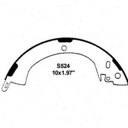 Wearever Silver Brake Pads/shoes - Rear - Nb524
